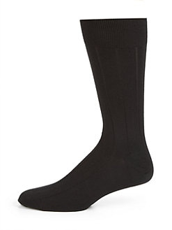 Marcoliani - Cashmere/Silk Ribbed Socks