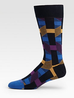 BOSS Black - Geometric Print Socks