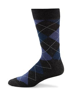 Marcoliani - Pima Cotton Argyle Socks