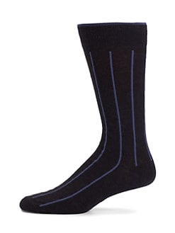 Marcoliani - Wool Vertical-Stripe Socks