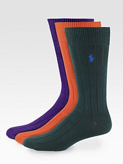 Polo Ralph Lauren - Ribbed Socks/3-Pack