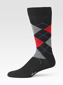 Brioni - Argyle Dress Socks
