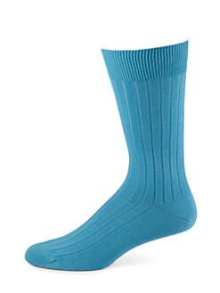 Marcoliani - Cotton-Blend Dress Socks