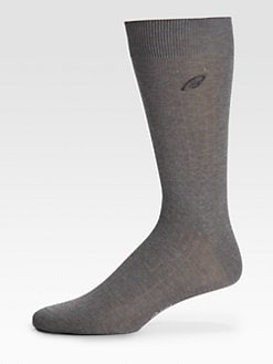Brioni - Signature Solid Crew Socks