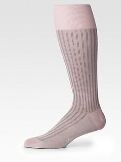 Brioni - Striped Dress Socks