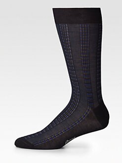 Brioni - Printed Dress Socks