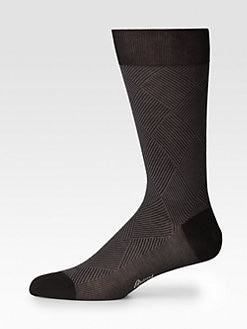 Brioni - Cotton Dress Socks