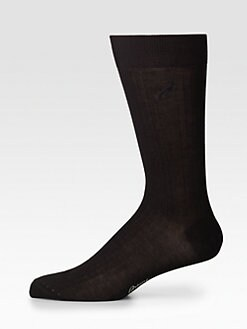 Brioni - Ribbed Dress Socks