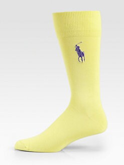 Polo Ralph Lauren - Big Polo Player Knit Socks