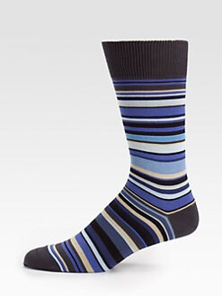 Paul Smith - Multistriped Socks