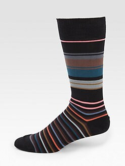 Paul Smith - Neon Striped Socks