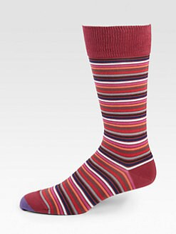 Paul Smith - Micro Stripe Dress Socks