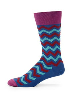 hook + ALBERT - Imperial Zig-Zag Socks