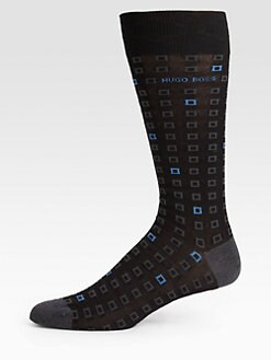 BOSS Black - Mercerized Dress Socks