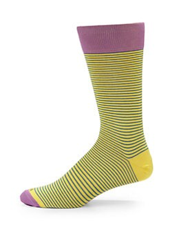 hook + ALBERT - Sunshine Super-Thin Striped Socks