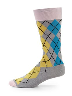 hook + ALBERT - Miami Argyle Socks