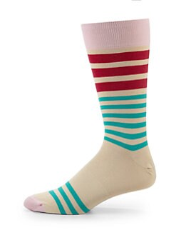 hook + ALBERT - Vanilla Striped Socks