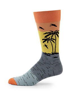 hook + ALBERT - Tropical Sunset Socks