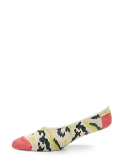hook + ALBERT - Spring Camo Loafer Liners