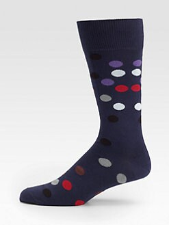 Paul Smith - Spray Polka-Dot Socks