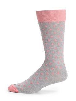 hook + ALBERT - Cloudburst Polka Dot Socks