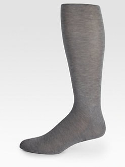 Falke - Solid Cotton Knit Socks