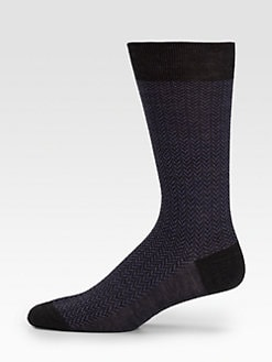 Brioni - Herringbone Socks