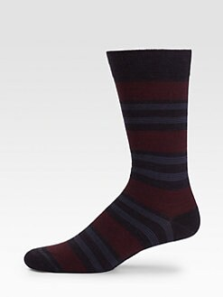 Marcoliani - Stripe Wool Socks