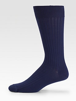 Marcoliani - Merino Wool Ribbed Socks