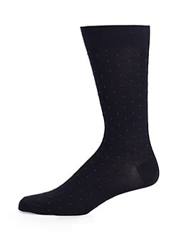 Marcoliani - Pin-Dot Pima Cotton Socks