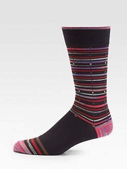 Robert Graham - Kinsky Striped Socks
