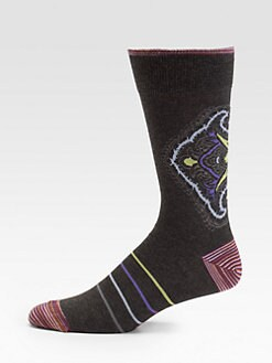 Robert Graham - Corsini Striped Socks