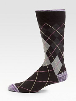 Robert Graham - Corinthian Argyle Socks