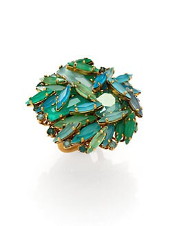 Aerin Erickson Beamon - Jeweled Cluster Ring