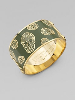 Alexander McQueen - Large Skull Cuff Bracelet