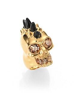 Alexander McQueen - Skull Horn Ring