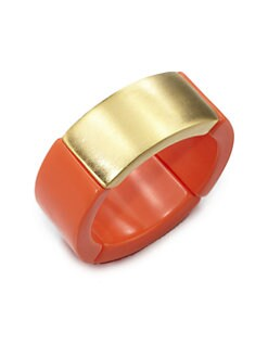 Kenneth Jay Lane - Resin Stretch Bracelet
