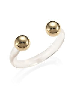 Marc by Marc Jacobs - Gig Ball-Ended Cuff/Goldtone