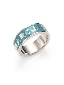 Marc by Marc Jacobs - Enamel Logo Ring