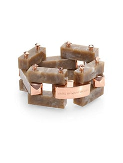 Marc by Marc Jacobs - Marbleized Link Bracelet