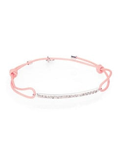 Marc by Marc Jacobs - Letterpress Bar Friendship Bracelet