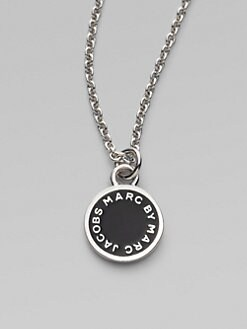 Marc by Marc Jacobs - Enamel Disc Pendant Necklace
