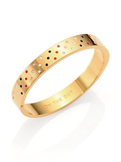 Kate Spade New York - Idioms On the Dot Bangle Bracelet