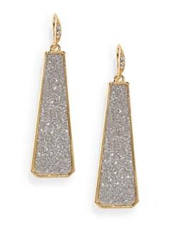 ABS by Allen Schwartz Jewelry - Glitter Drop Earrings