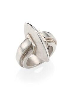 Ann Demeulemeester - Sterling Silver Omega Ring