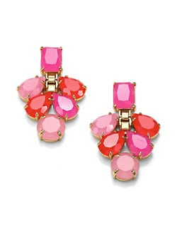 Kate Spade New York - Boardwalk Stroll Chandelier Earrings