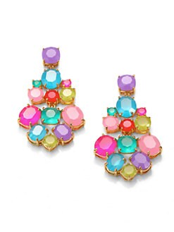 Kate Spade New York - Multi-Color Chandelier Earrings