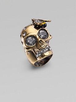Alexander McQueen - Skull Cocktail Ring