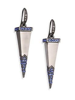 ABS by Allen Schwartz Jewelry - Pave Dagger Drop Earrings