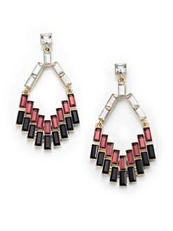 ABS by Allen Schwartz Jewelry - Box of Jewels Mixed Baguette Chandelier Earrings